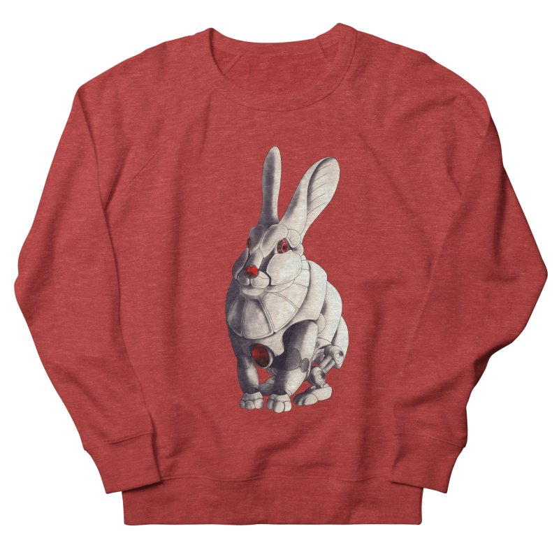 Weiss Hase Uhr Women's French Terry Sweatshirt by Frenchi French