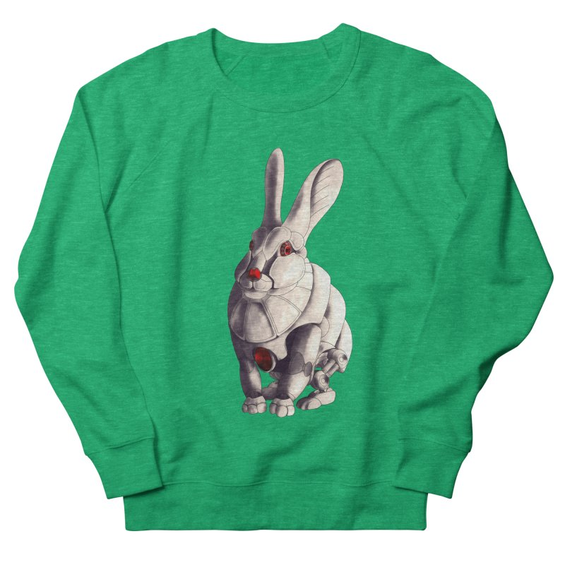 Weiss Hase Uhr Men's French Terry Sweatshirt by Frenchi French