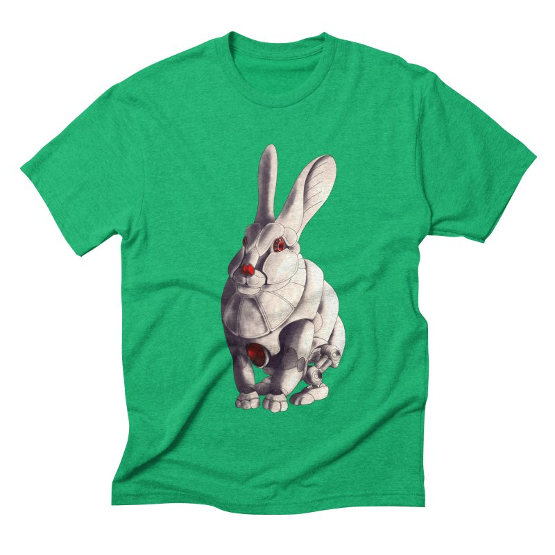 Weiss Hase Uhr Men's Triblend T-Shirt by Frenchi French