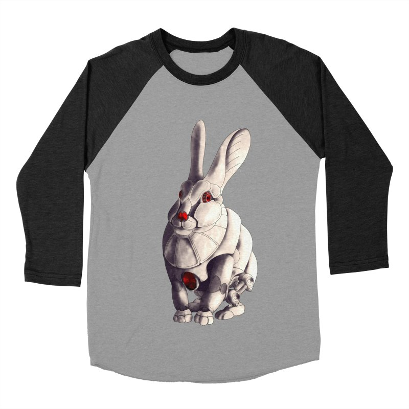 Weiss Hase Uhr Men's Baseball Triblend Longsleeve T-Shirt by Frenchi French