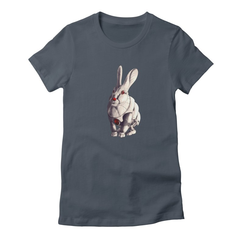 Weiss Hase Uhr Women's T-Shirt by Frenchi French