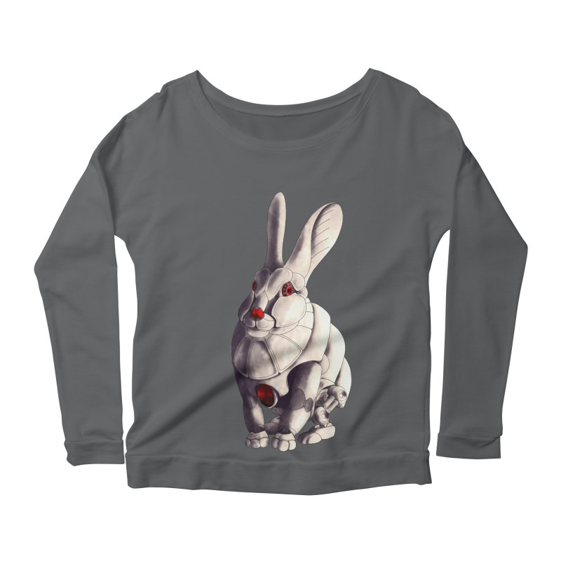 Weiss Hase Uhr Women's Scoop Neck Longsleeve T-Shirt by Frenchi French