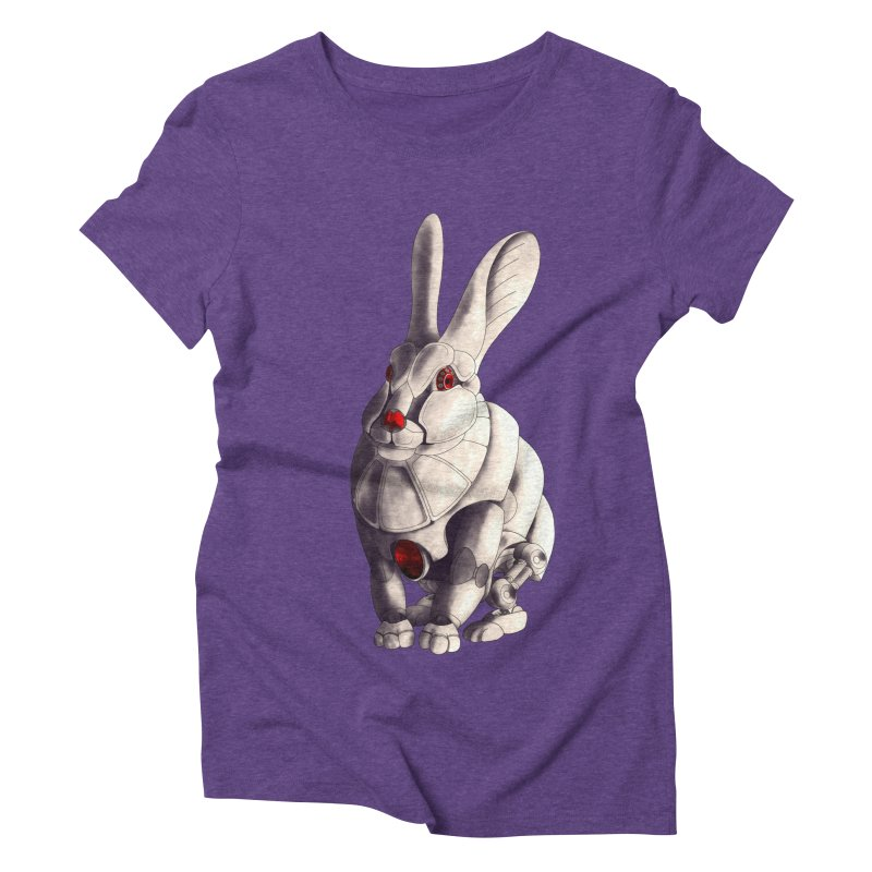 Weiss Hase Uhr Women's Triblend T-Shirt by Frenchi French