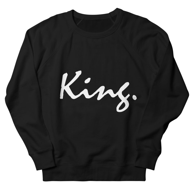 King Men's Sweatshirt by freshkreative's Artist Shop