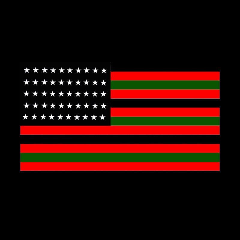 Black N America Men's T-Shirt by freshkreative's Artist Shop