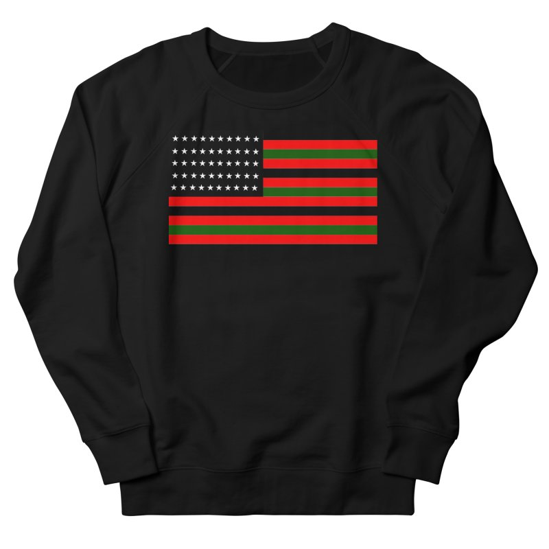 Black N America Men's Sweatshirt by freshkreative's Artist Shop