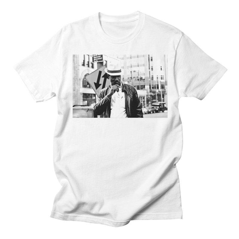 Members Only in Men's T-Shirt White by freshkreative's Artist Shop