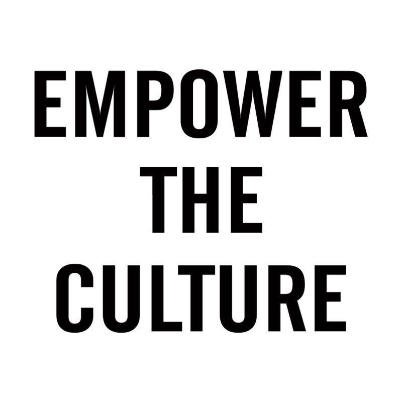 Empower The Culture Black Men's T-Shirt by freshkreative's Artist Shop