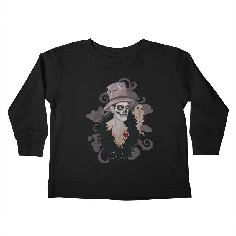 The Baron Kids Toddler Longsleeve T-Shirt by freshoteric's Artist Shop