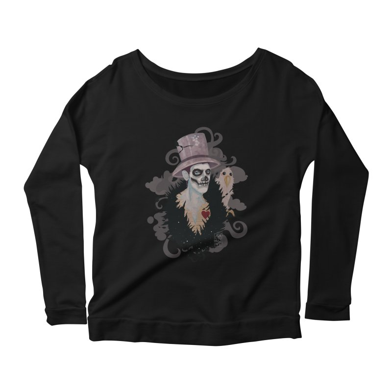 The Baron Women's Scoop Neck Longsleeve T-Shirt by freshoteric's Artist Shop