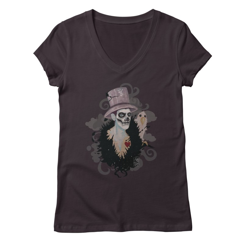 The Baron Women's Regular V-Neck by freshoteric's Artist Shop