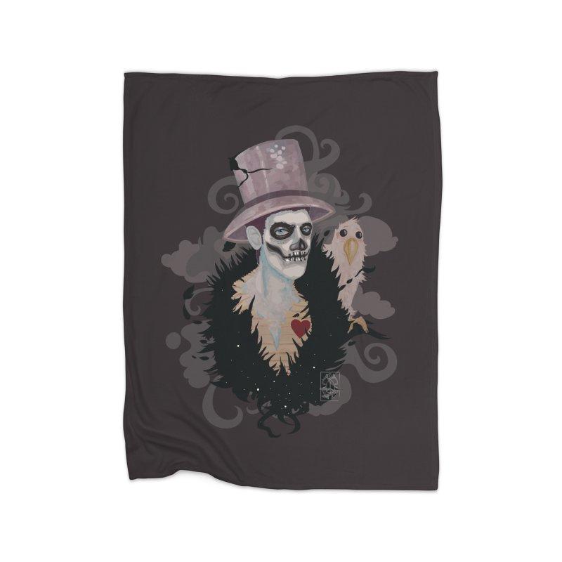 The Baron Home Fleece Blanket Blanket by freshoteric's Artist Shop