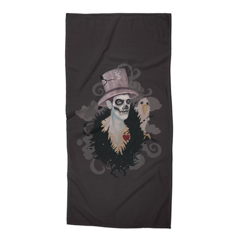The Baron Accessories Beach Towel by freshoteric's Artist Shop