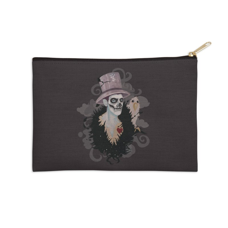 The Baron Accessories Zip Pouch by freshoteric's Artist Shop