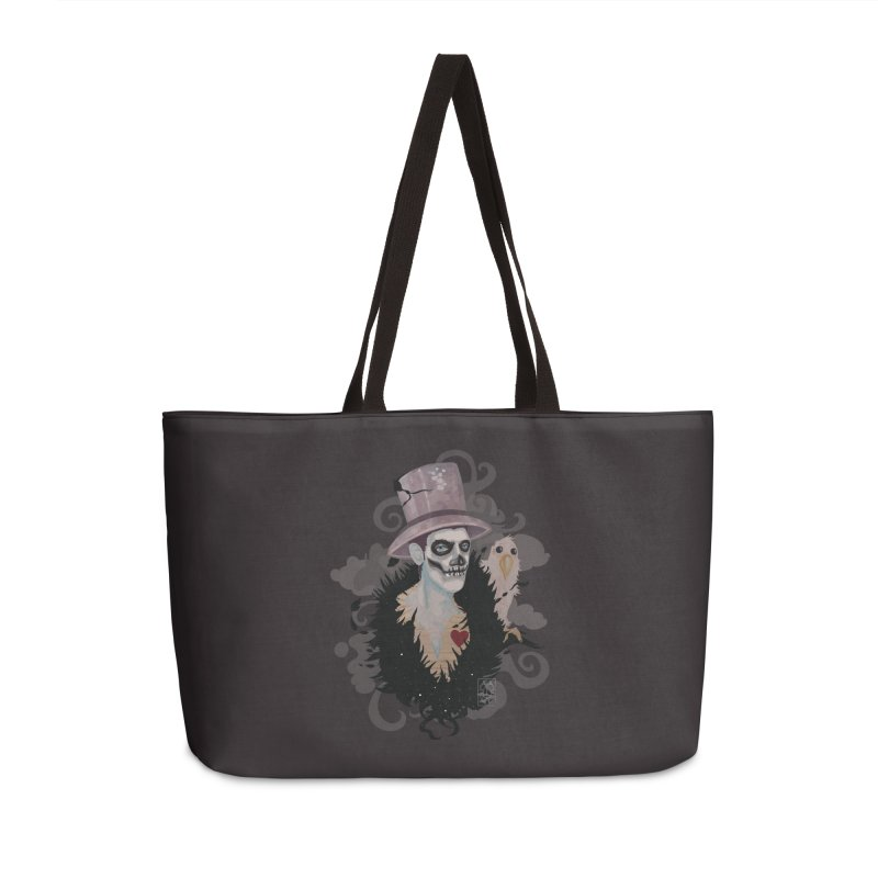 The Baron Accessories Weekender Bag Bag by freshoteric's Artist Shop