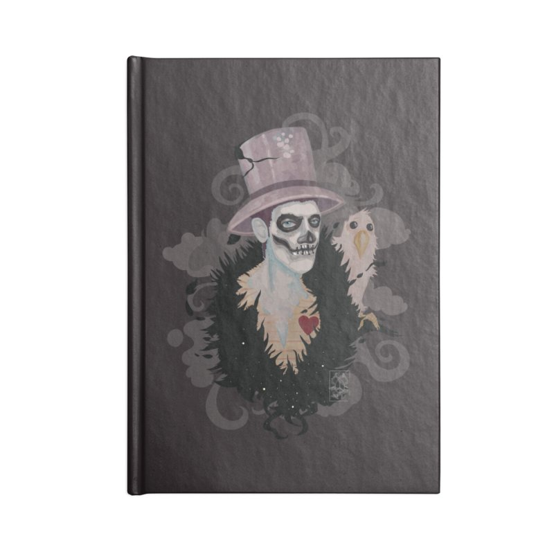 The Baron Accessories Lined Journal Notebook by freshoteric's Artist Shop