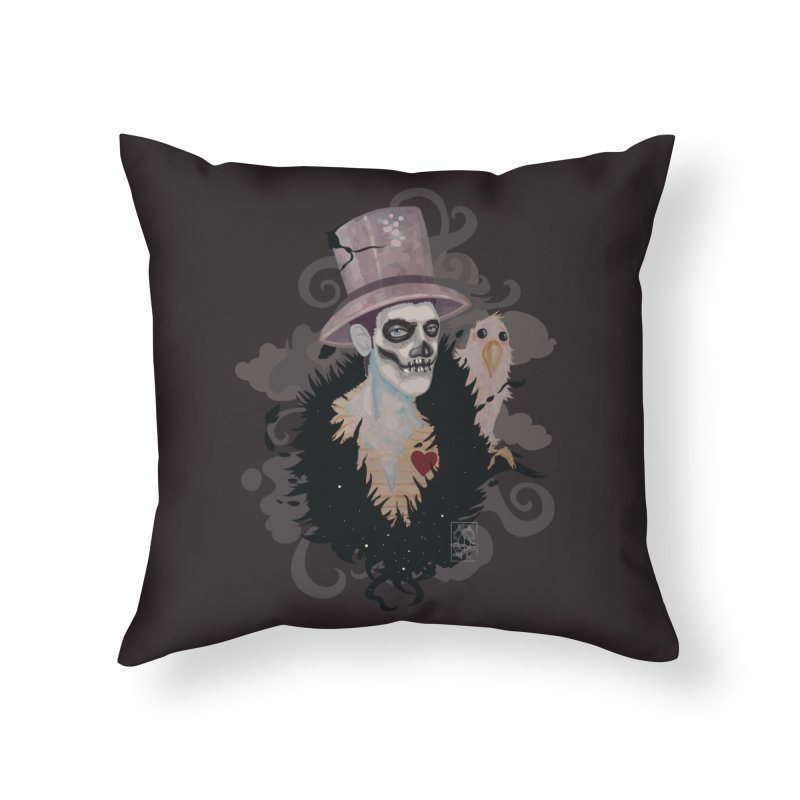 The Baron Home Throw Pillow by freshoteric's Artist Shop
