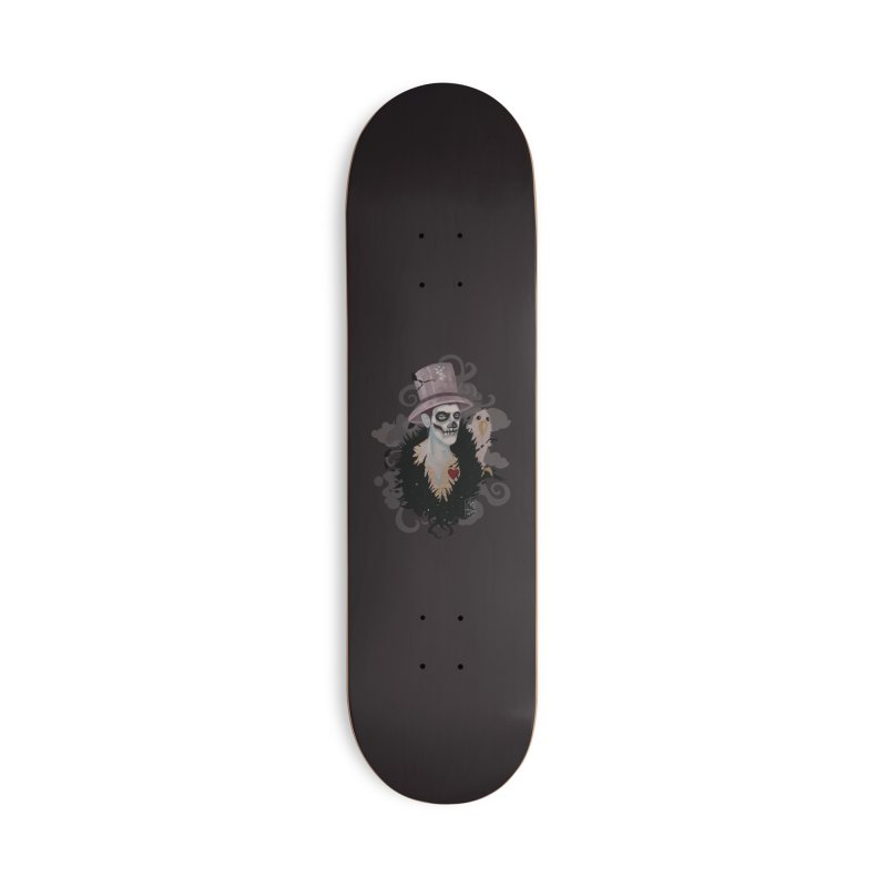 The Baron Accessories Deck Only Skateboard by freshoteric's Artist Shop