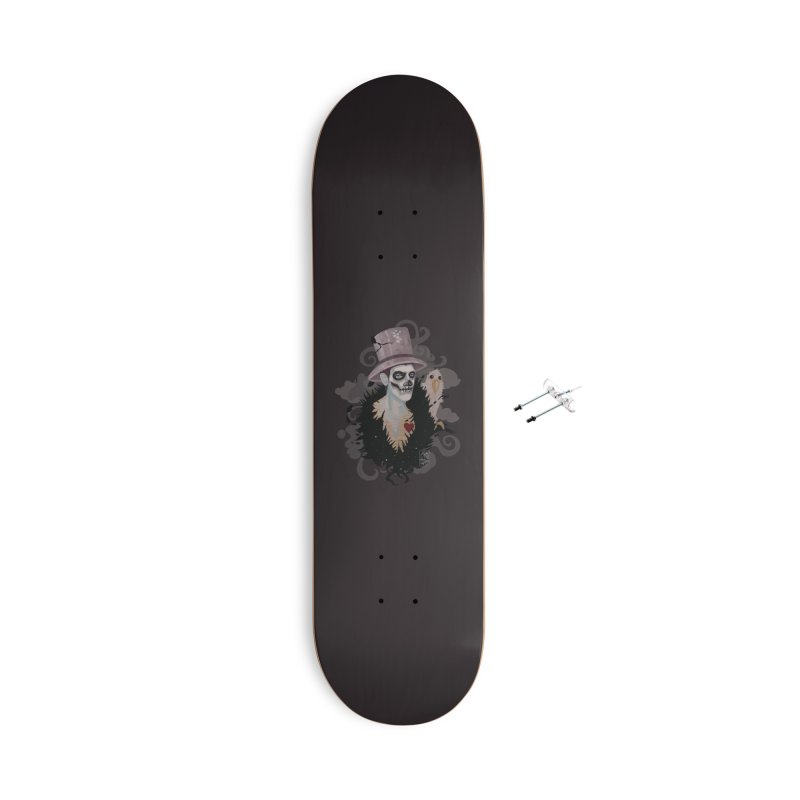 The Baron Accessories With Hanging Hardware Skateboard by freshoteric's Artist Shop