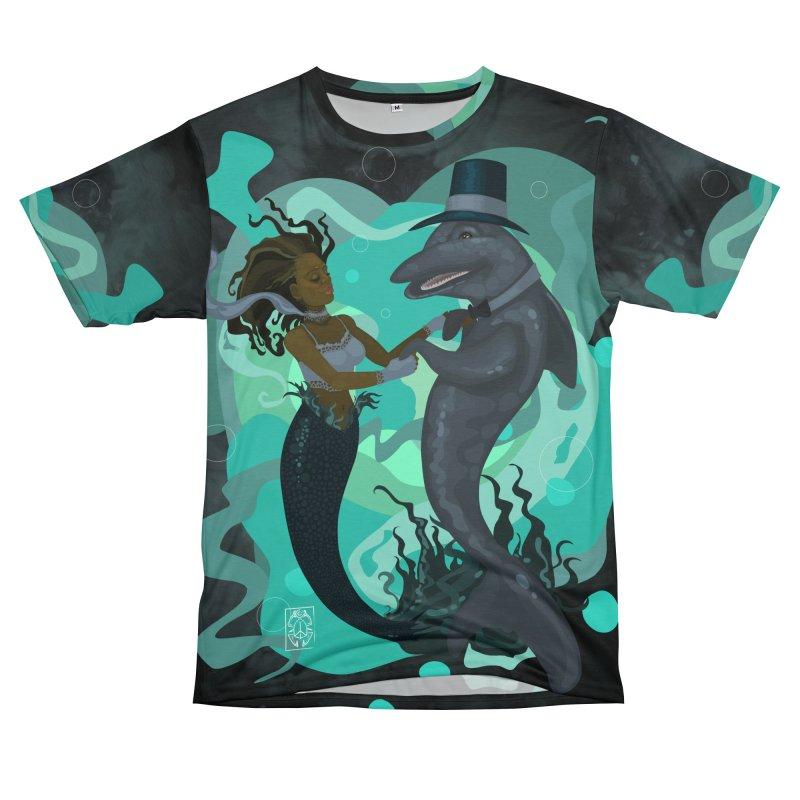 A Mermaid's Dance Men's T-Shirt Cut & Sew by freshoteric's Artist Shop