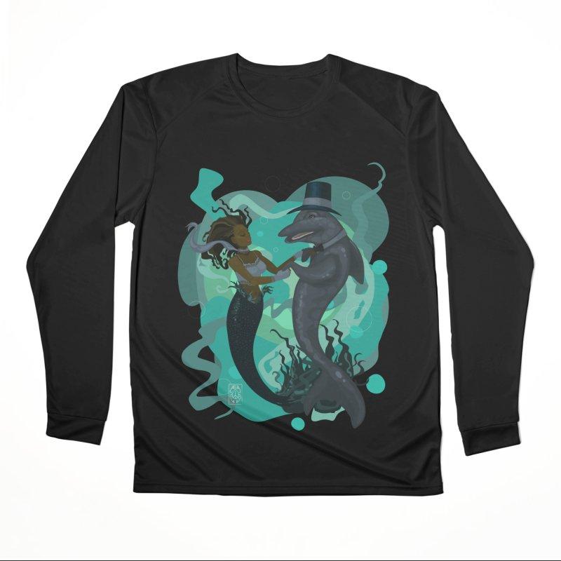 A Mermaid's Dance Women's Performance Unisex Longsleeve T-Shirt by freshoteric's Artist Shop