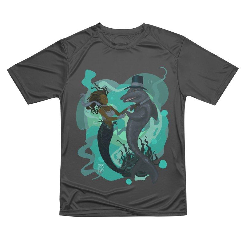 A Mermaid's Dance Men's Performance T-Shirt by freshoteric's Artist Shop