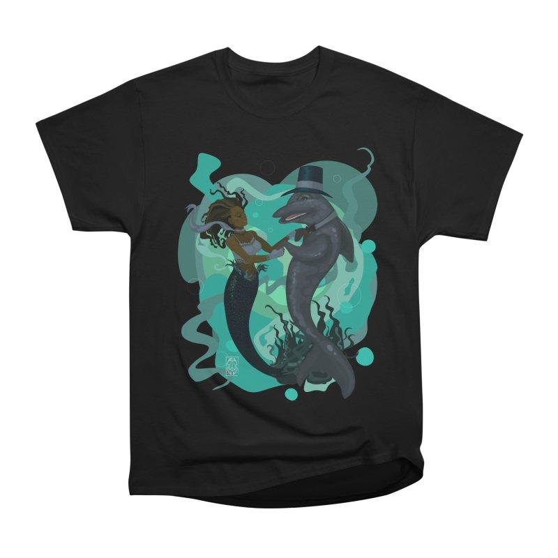 A Mermaid's Dance Women's Heavyweight Unisex T-Shirt by freshoteric's Artist Shop