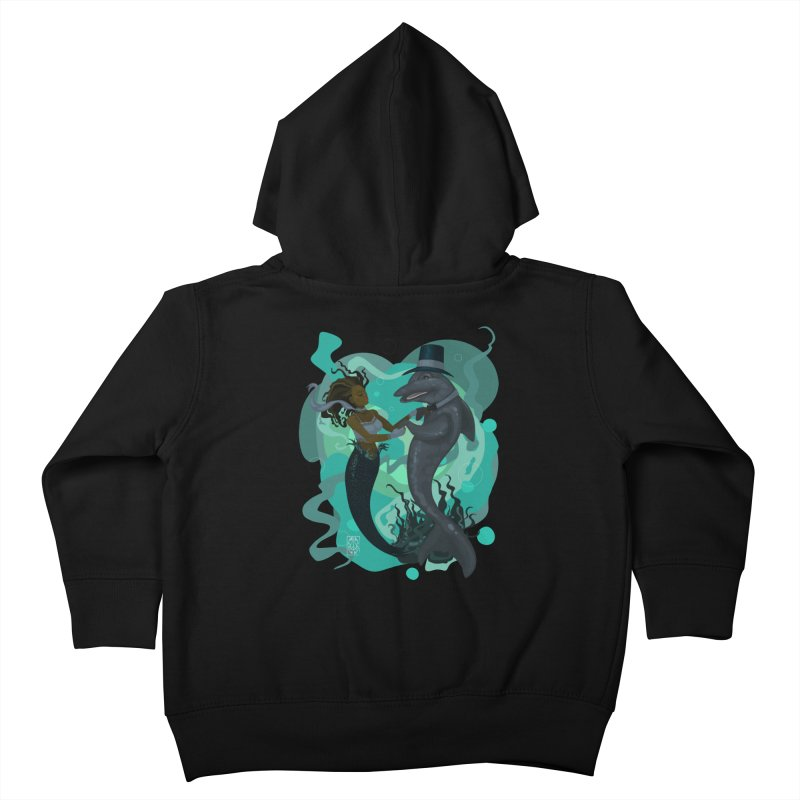 A Mermaid's Dance Kids Toddler Zip-Up Hoody by freshoteric's Artist Shop