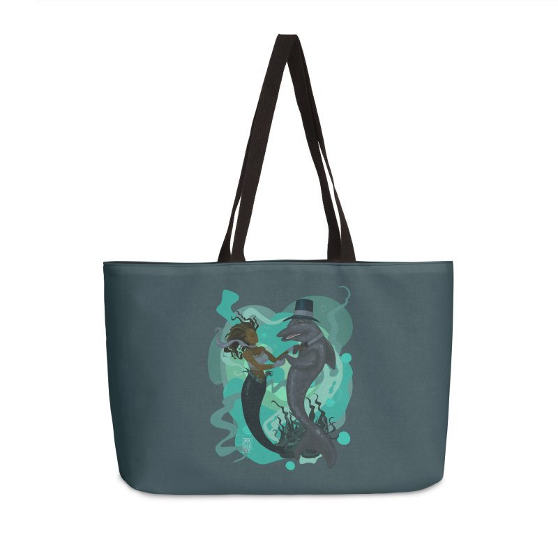 A Mermaid's Dance Accessories Weekender Bag Bag by freshoteric's Artist Shop