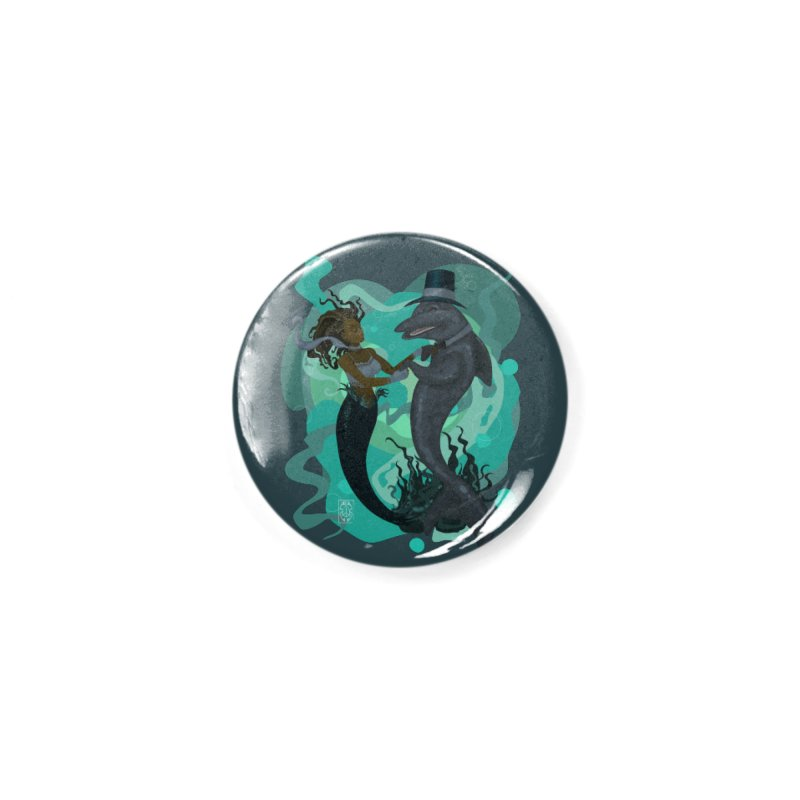 A Mermaid's Dance Accessories Button by freshoteric's Artist Shop