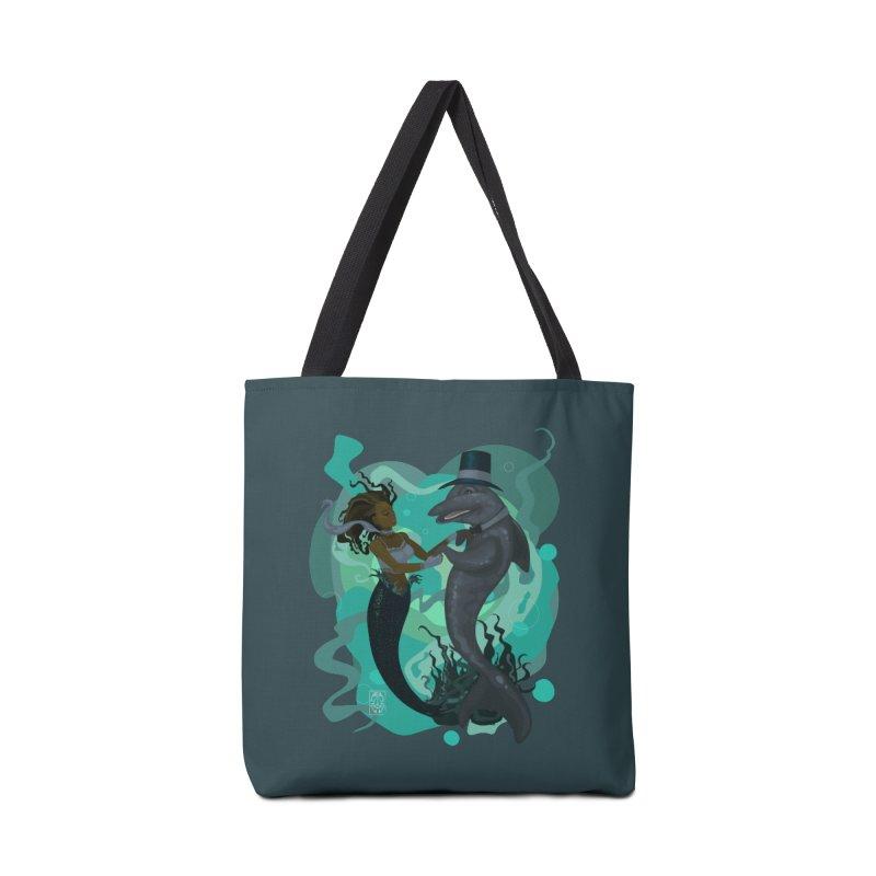 A Mermaid's Dance Accessories Tote Bag Bag by freshoteric's Artist Shop
