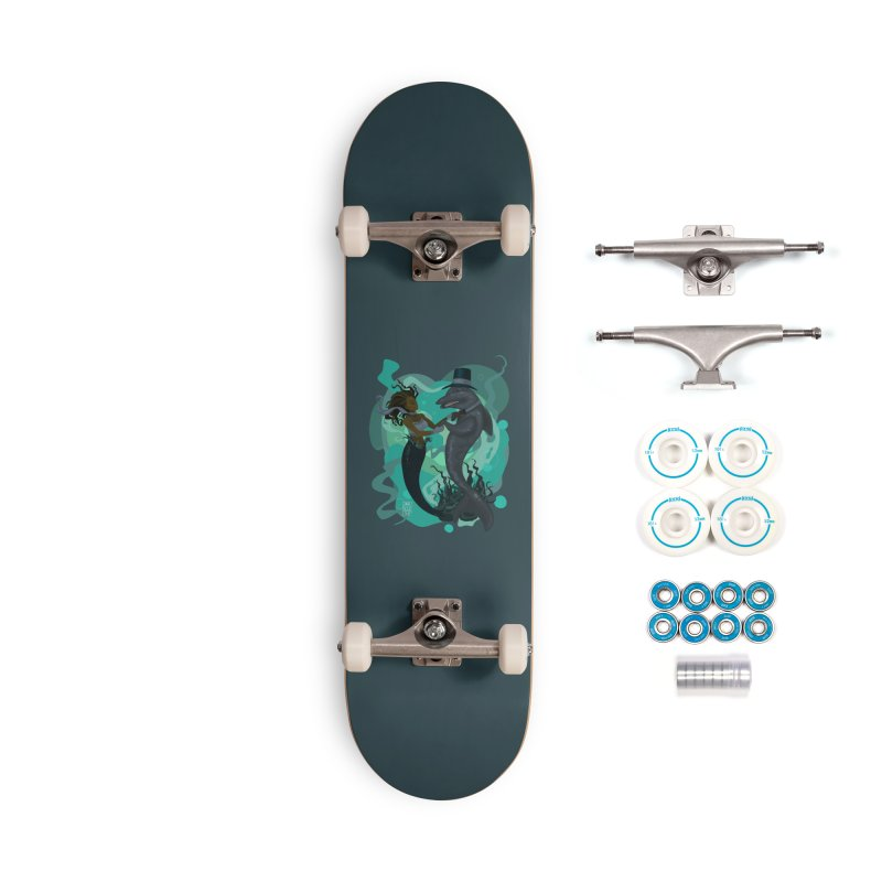 A Mermaid's Dance Accessories Complete - Basic Skateboard by freshoteric's Artist Shop