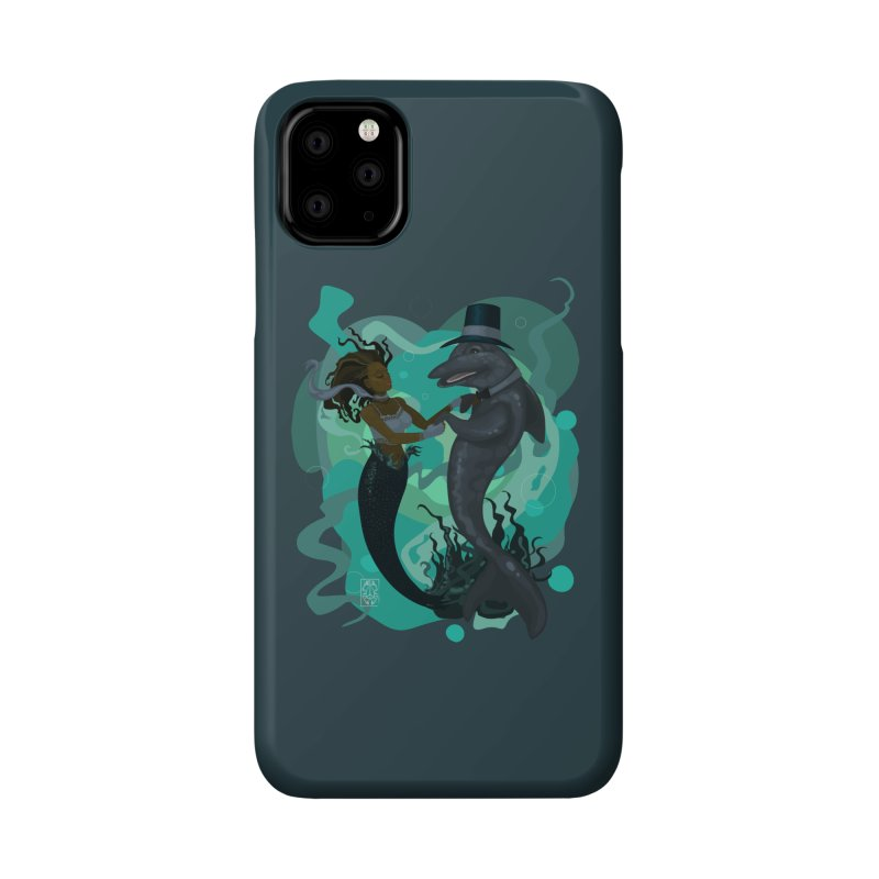 A Mermaid's Dance Accessories Phone Case by freshoteric's Artist Shop