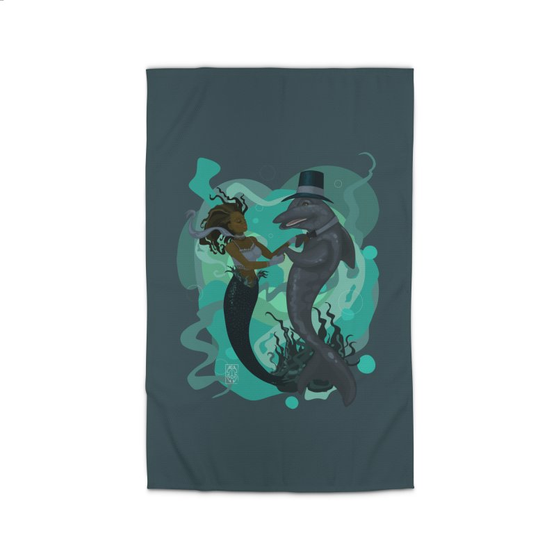 A Mermaid's Dance Home Rug by freshoteric's Artist Shop
