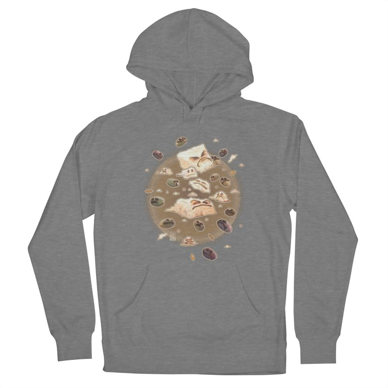 Angry Feta and Olives Women's Pullover Hoody by freshoteric's Artist Shop