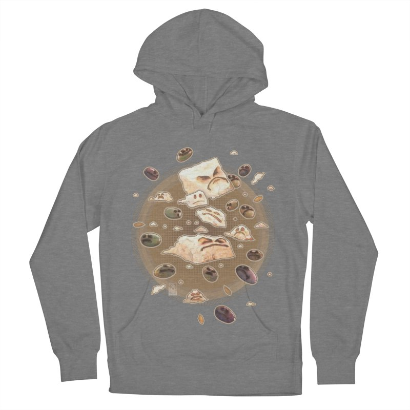Angry Feta and Olives Men's French Terry Pullover Hoody by freshoteric's Artist Shop