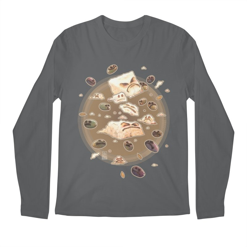 Angry Feta and Olives Men's Regular Longsleeve T-Shirt by freshoteric's Artist Shop
