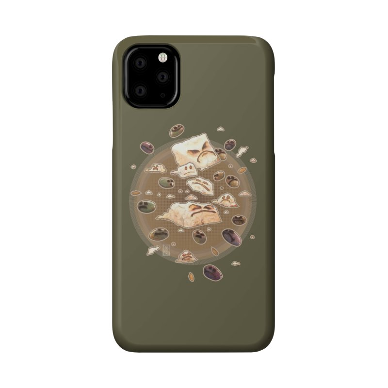 Angry Feta and Olives Accessories Phone Case by freshoteric's Artist Shop