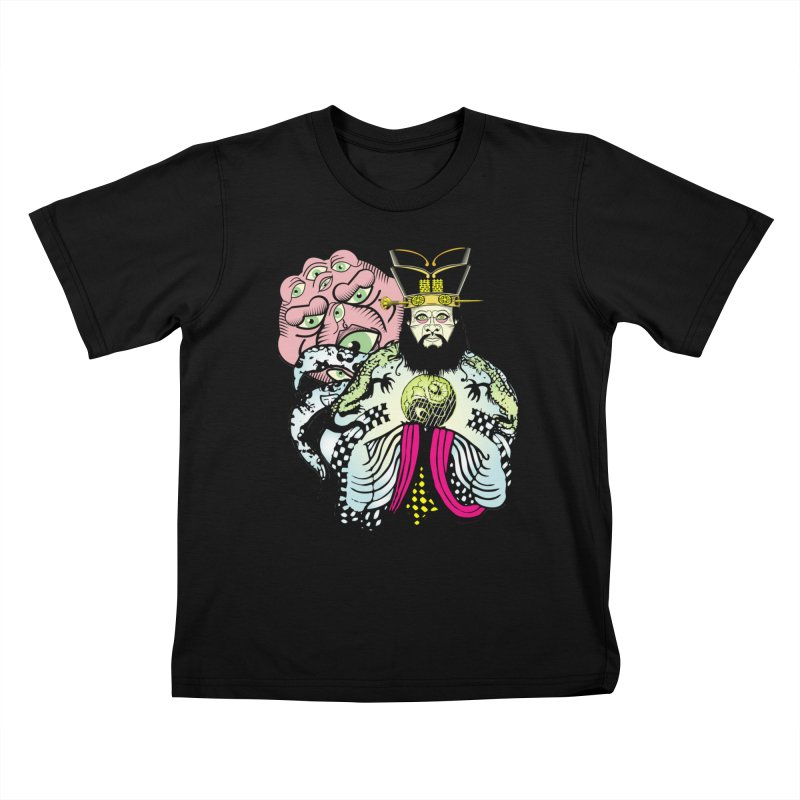 Big Trouble Kids T-shirt by Frewil 's Artist Shop