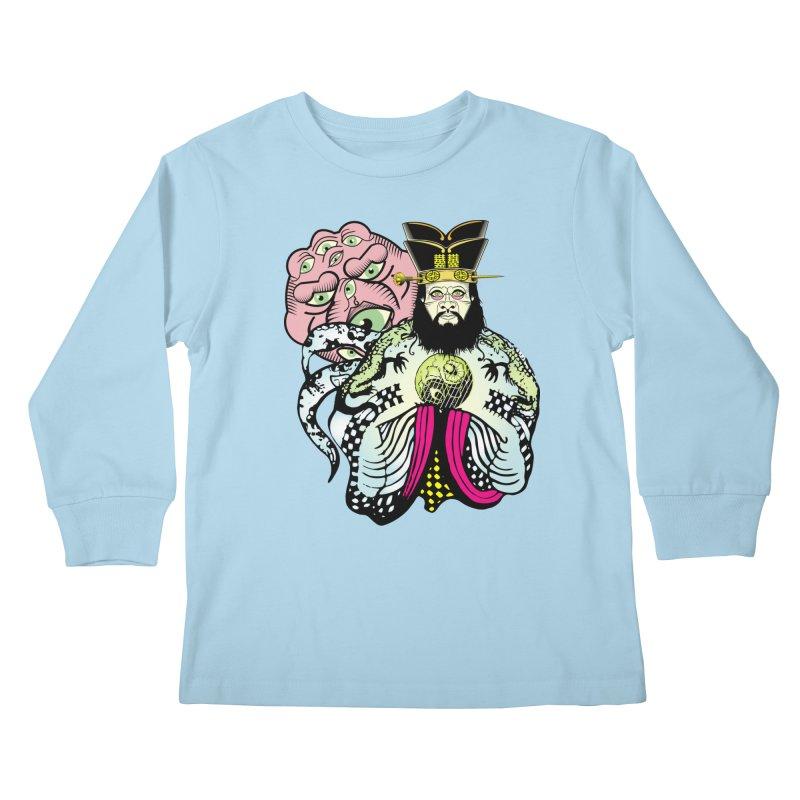 Big Trouble Kids Longsleeve T-Shirt by Frewil 's Artist Shop
