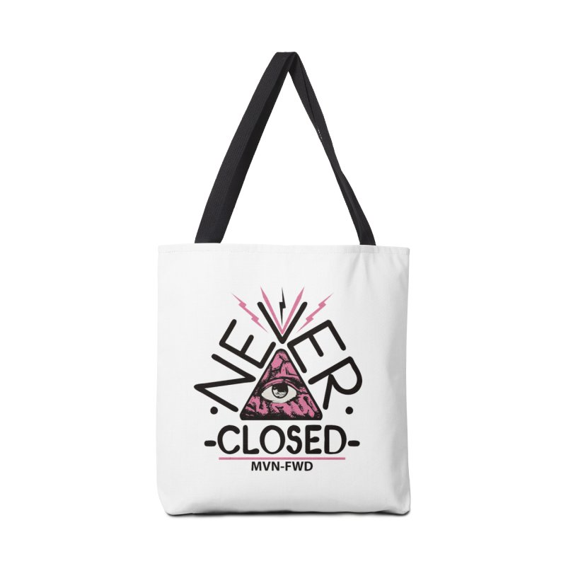 Never Closed  Accessories Bag by Frewil 's Artist Shop