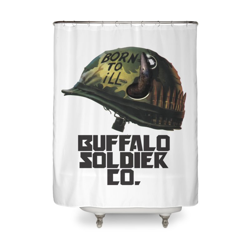 Full Metal Buffalo Home Shower Curtain by Frewil 's Artist Shop