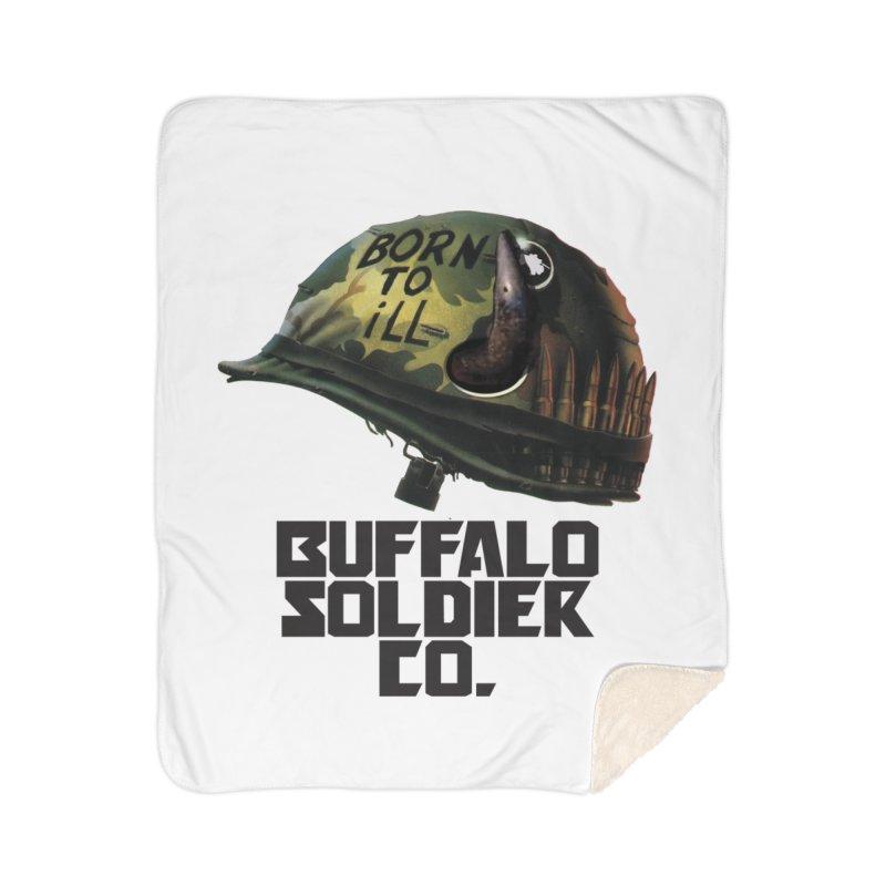 Full Metal Buffalo Home Blanket by Frewil 's Artist Shop