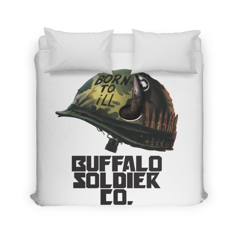 Full Metal Buffalo Home Duvet by Frewil 's Artist Shop