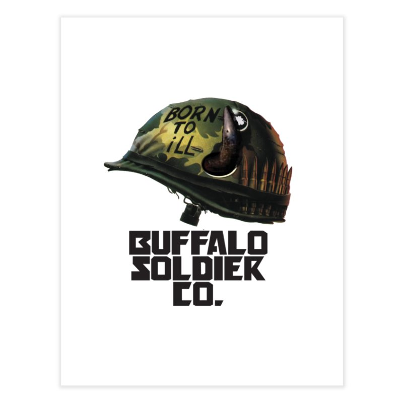 Full Metal Buffalo Home Fine Art Print by Frewil 's Artist Shop