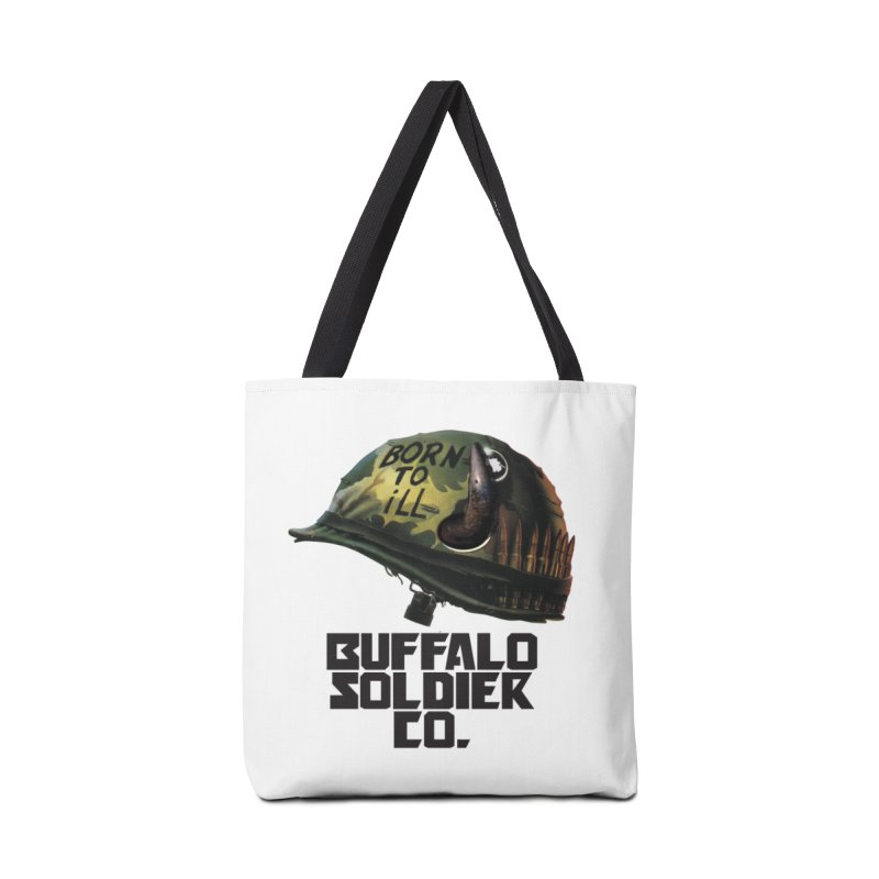 Full Metal Buffalo Accessories Bag by Frewil 's Artist Shop