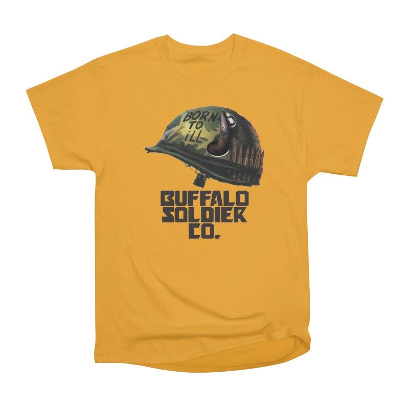 Full Metal Buffalo Women's Classic Unisex T-Shirt by Frewil 's Artist Shop