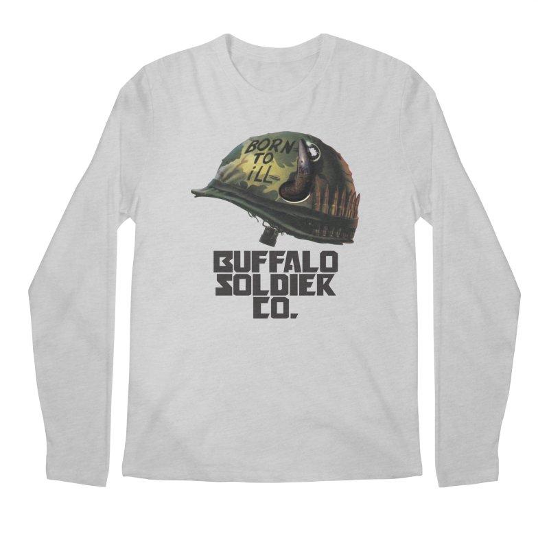 Full Metal Buffalo Men's Longsleeve T-Shirt by Frewil 's Artist Shop