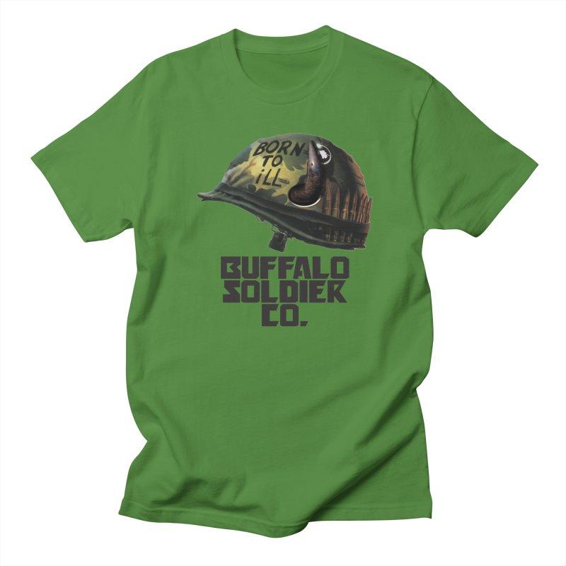 Full Metal Buffalo Men's Regular T-Shirt by Frewil 's Artist Shop