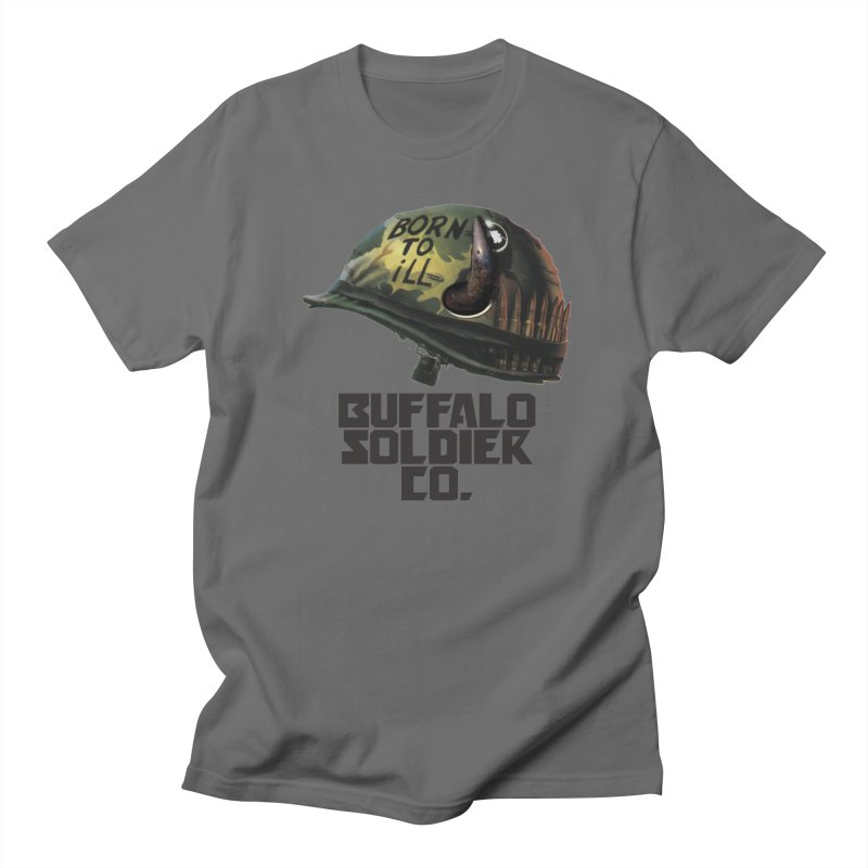Full Metal Buffalo Women's Unisex T-Shirt by Frewil 's Artist Shop